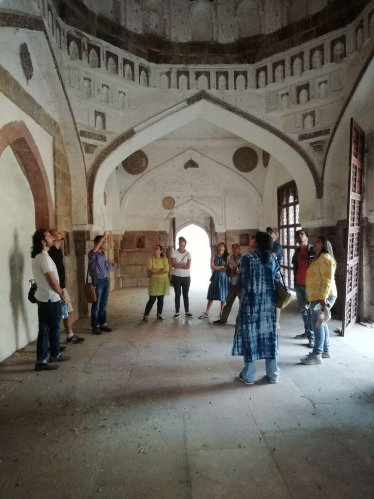 Inside the Muhammad wali Masjid